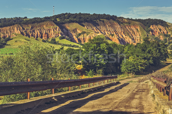 Road to Red Ravine (Rapa Rosie) Stock photo © photosebia