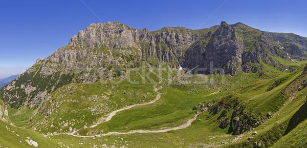 Malaiesti Valley, Bucegi Mountains, Romania Stock photo © photosebia