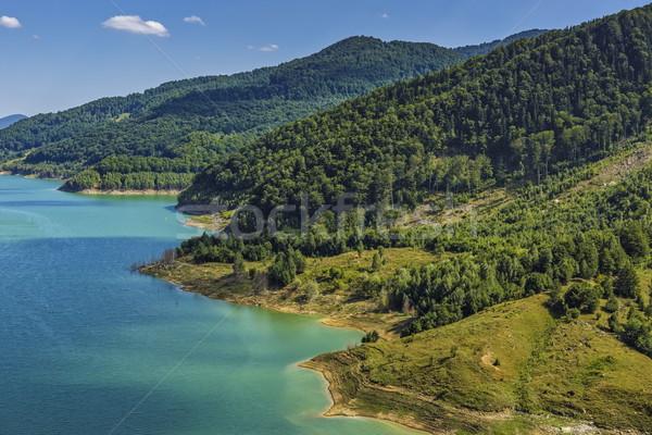 Natural scenery with lake Stock photo © photosebia
