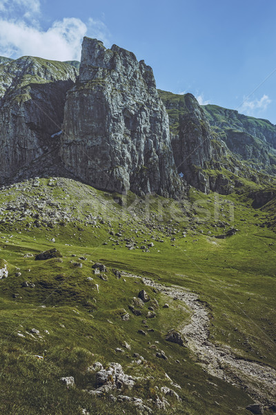 Alpine landscape Stock photo © photosebia