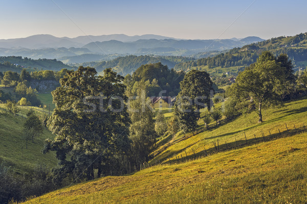 Picturesque Romanian travel locations Stock photo © photosebia