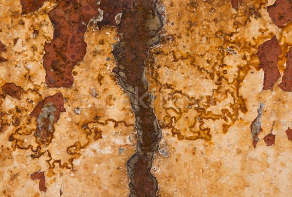 ржавчины бесшовный ржавые металл лист аннотация Сток-фото © photosil