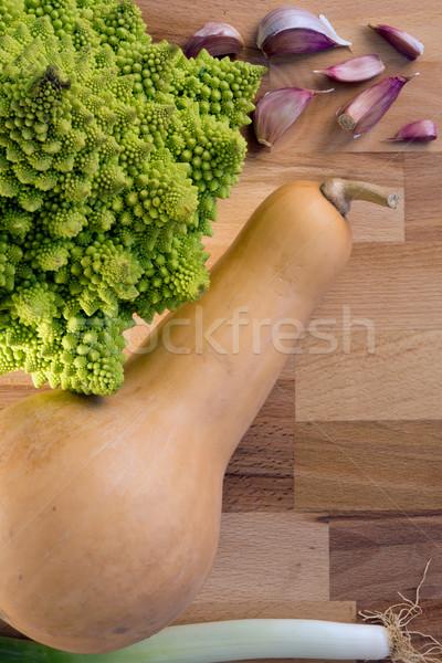 свежие овощи фон растительное свежие Сток-фото © photosil