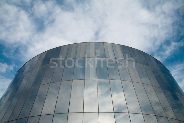 Reflecting building Stock photo © photosil