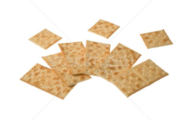 изолированный белый группа еды Cookie зерновых Сток-фото © photosil
