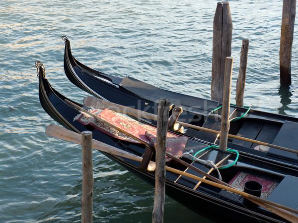 Pormenor Veneza Itália água mar europa Foto stock © photosil