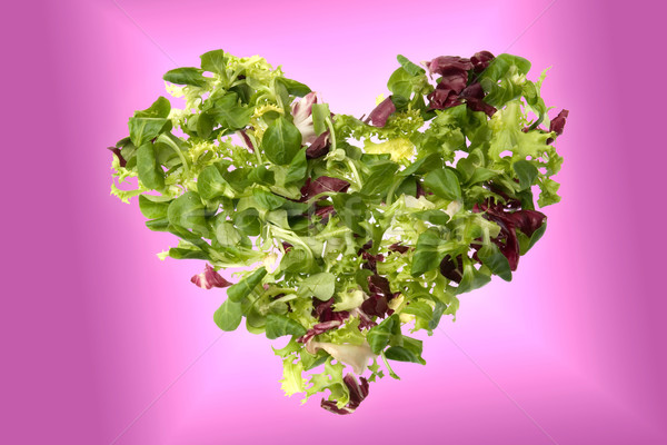 Green heart Stock photo © photosil
