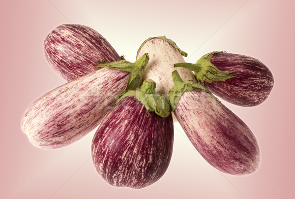 Seis fresco orgânico roxo branco comida Foto stock © photosil