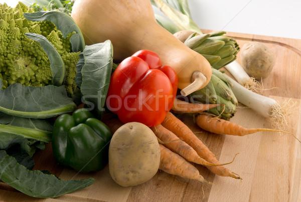 Foto stock: Legumes · legumes · frescos · comida · grupo