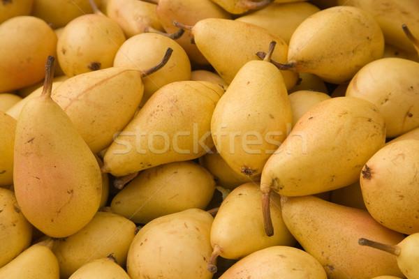 Peras amarelo azulejos mercado comida verão Foto stock © photosil