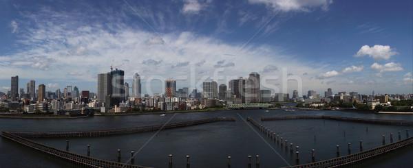 Tóquio panorama Japão cidade edifícios urbano Foto stock © photosil
