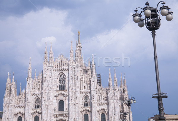 собора мнение облачный день небе Сток-фото © photosil
