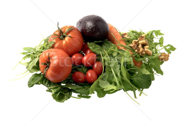 Fresh salad ingredients Stock photo © photosil