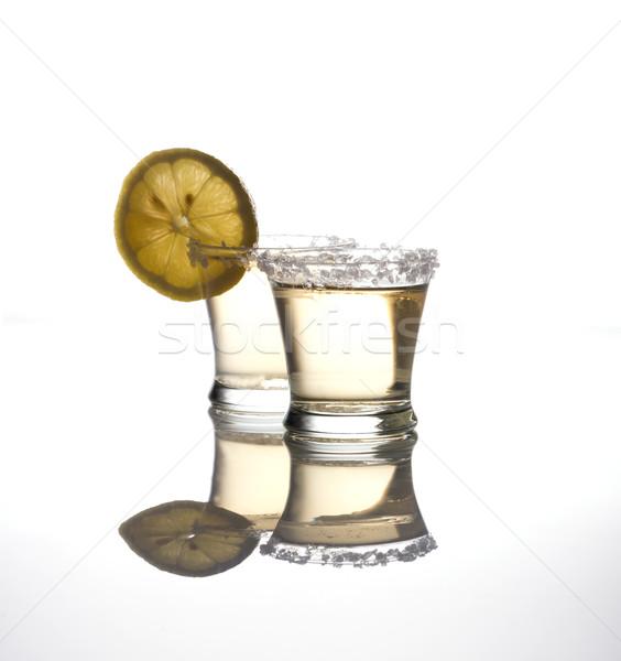 テキーラ 2 白 カクテル レモン ストックフォト © photosil