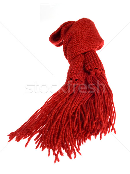 Red scarf Stock photo © photosil