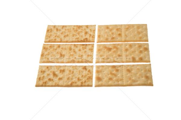 Seis isolado branco grupo refeição Foto stock © photosil