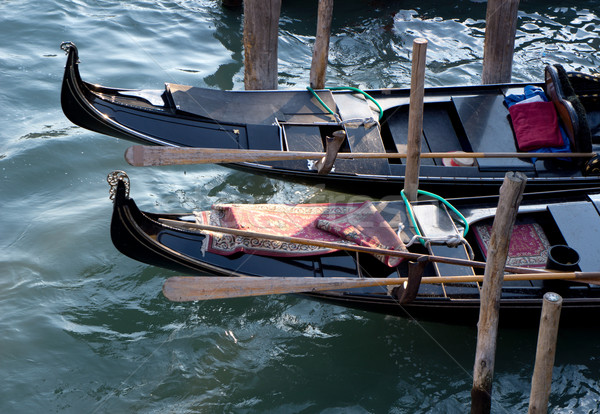 Gondolas Stock photo © photosil