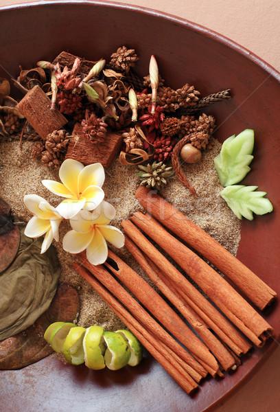 Aromaterapi spa doğal bileşen hazır Stok fotoğraf © photosoup