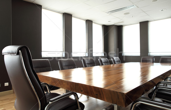 Modern meeting room Stock photo © photosoup