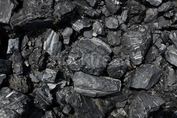 Close up of coal  background Stock photo © photosoup