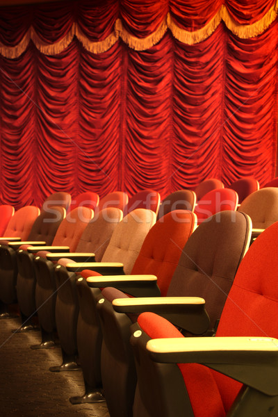Theater seatings Stock photo © photosoup