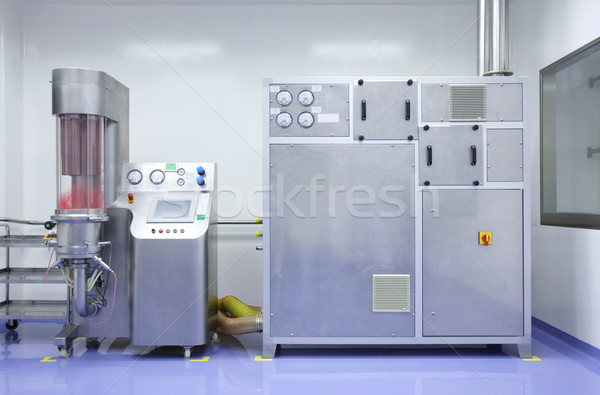 Ipari felszerlés gép laboratórium technológia gyár Stock fotó © photosoup