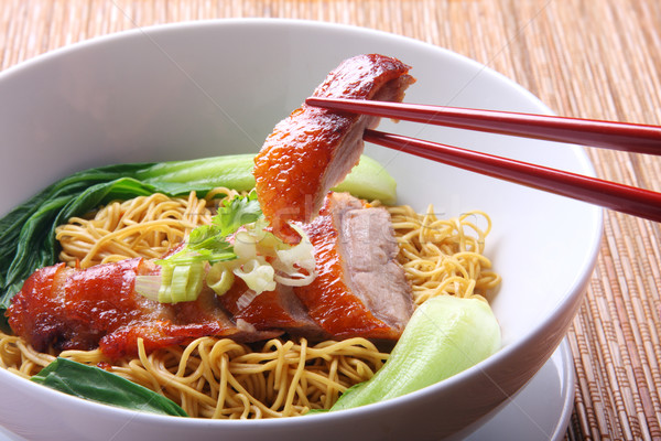 Asian Food Noodle Soup Stock photo © photosoup