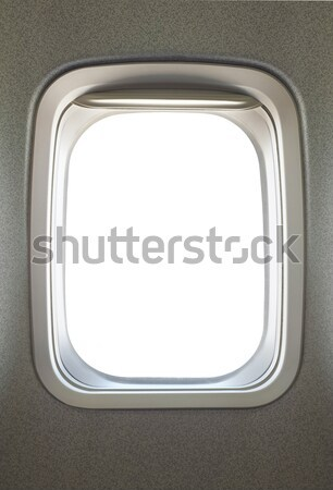 Airplane window Stock photo © photosoup