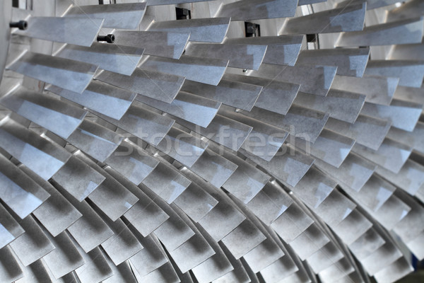 turbine rotor blades Stock photo © photosoup