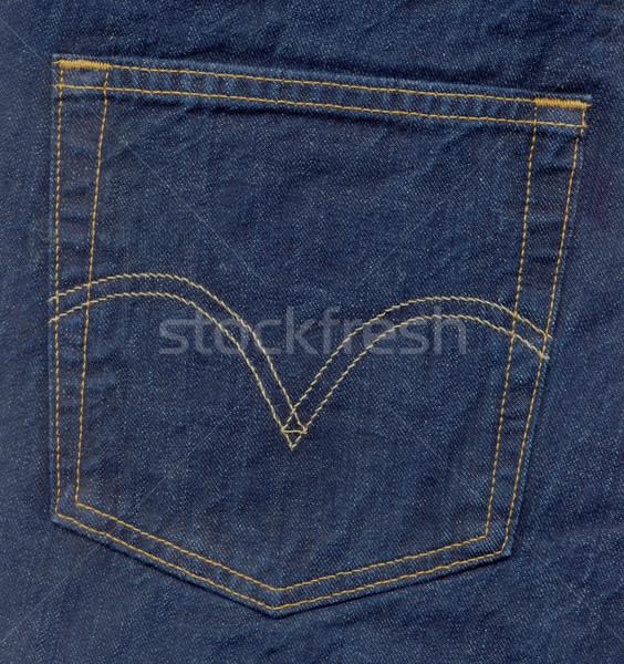 blue jeans pocket Stock photo © photosoup