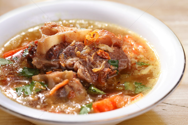 Oxtail soup Stock photo © photosoup