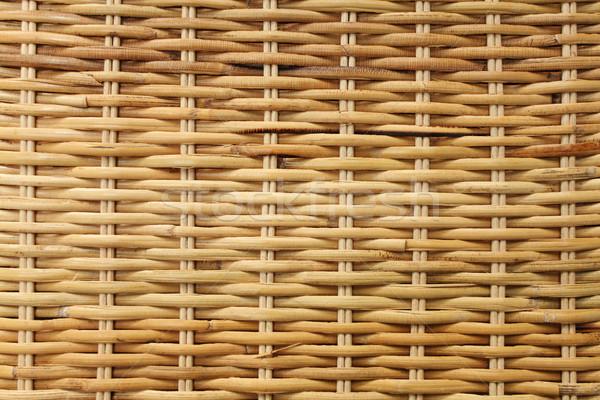 Textúra hátterek terv bútor bambusz kosár Stock fotó © photosoup