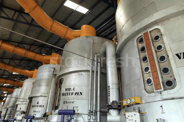 Industrial interior Vacuum Pan equipment Stock photo © photosoup