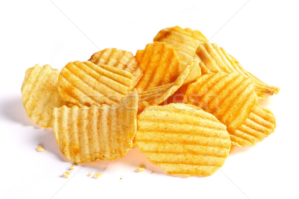pile of potato chips Stock photo © photosoup