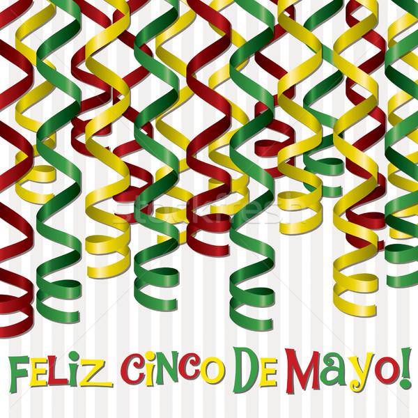 Mayonesa feliz cinta tarjeta textura verde Foto stock © piccola