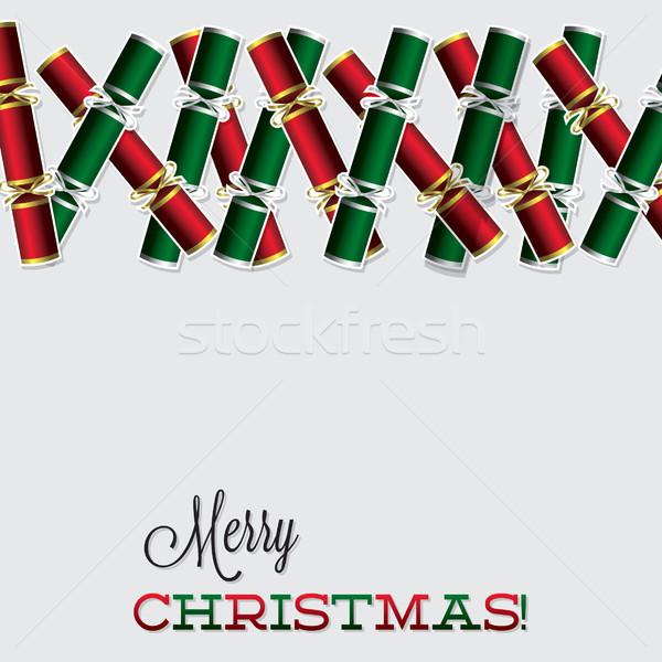 ярко Рождества карт вектора формат вечеринка Сток-фото © piccola