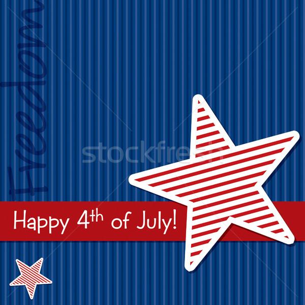 Boldog nap csillag kivágás kártya vektor Stock fotó © piccola