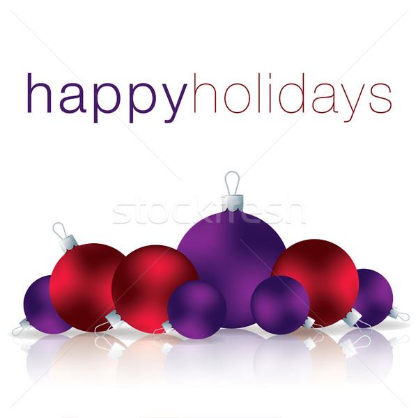 幸せ 休日 安物の宝石 カード ベクトル フォーマット ストックフォト © piccola