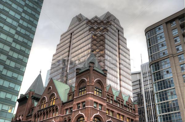 зданий старые новых Торонто город Сток-фото © pictureguy