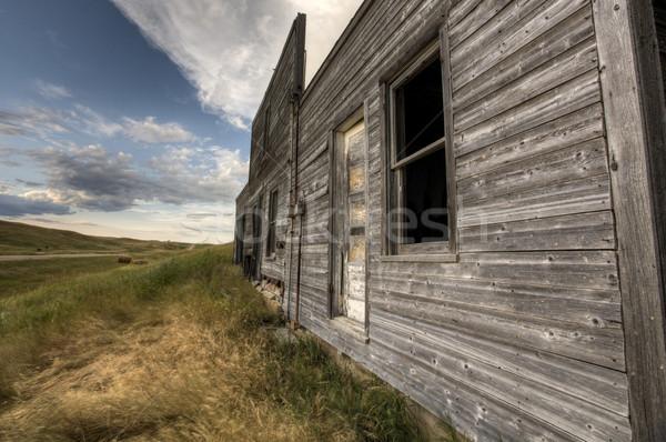 Abandoned Farmhouse Saskatchewan Canada Stock photo © pictureguy
