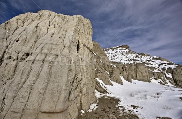 Saskatchewan grande fangoso valle inverno panorama Foto d'archivio © pictureguy