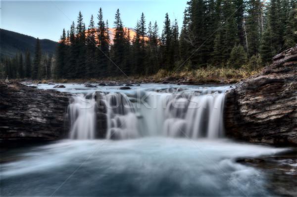 Birka folyó Kanada reggel napfelkelte természet Stock fotó © pictureguy