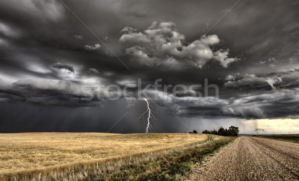 Major Storm Saskatchewan Stock photo © pictureguy