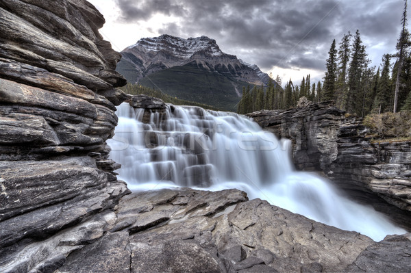 Athabasca Waterfall Alberta Canada Stock photo © pictureguy