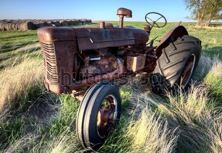 Elhagyatott jármű préri antik klasszikus kopott Stock fotó © pictureguy