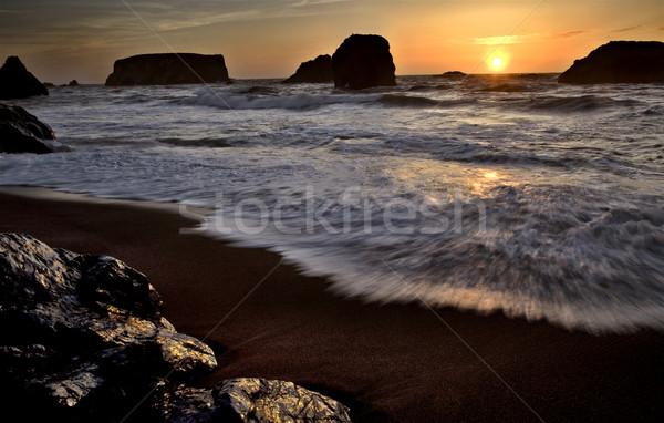 Sunset Bandon Oregon Stock photo © pictureguy
