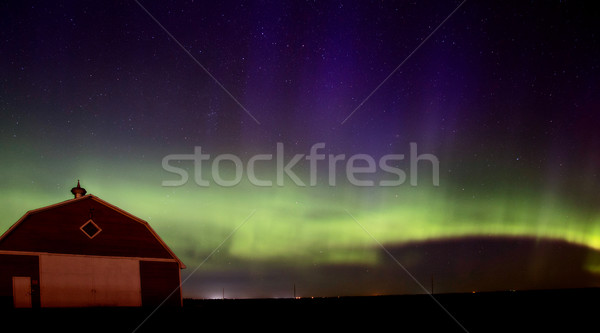 Northern Lights Aurora Borealis Stock photo © pictureguy