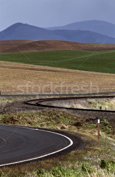 Palouse scenic Washington Stock photo © pictureguy