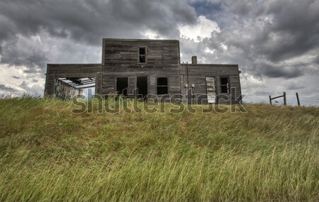 Abandoned Farmhouse Saskatchewan Canada Stock photo © pictureguy