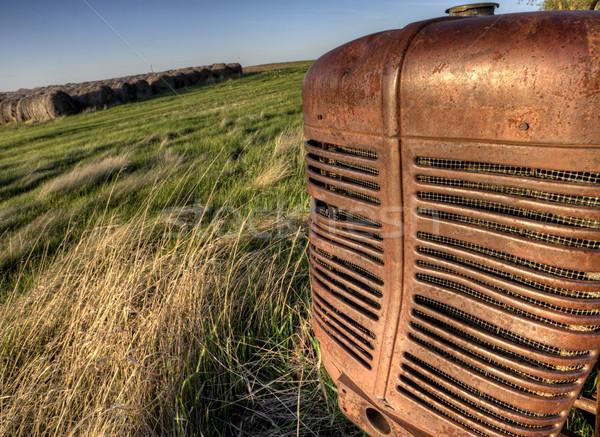Antique Farm Equipment Stock photo © pictureguy